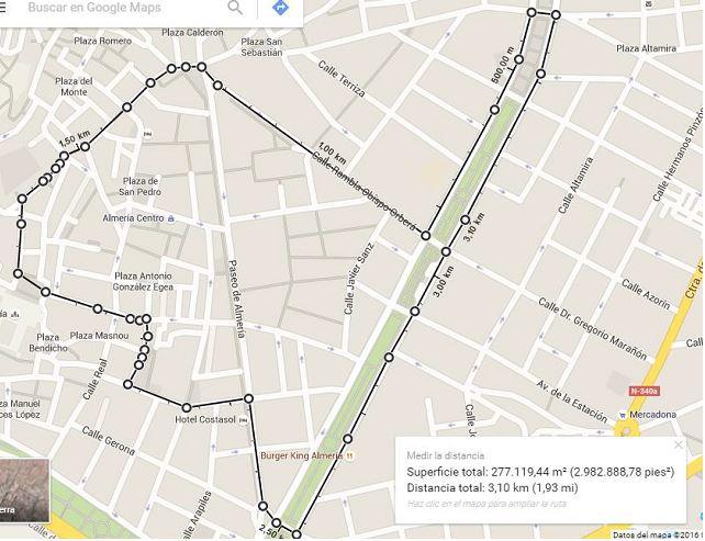 mapa 3100m