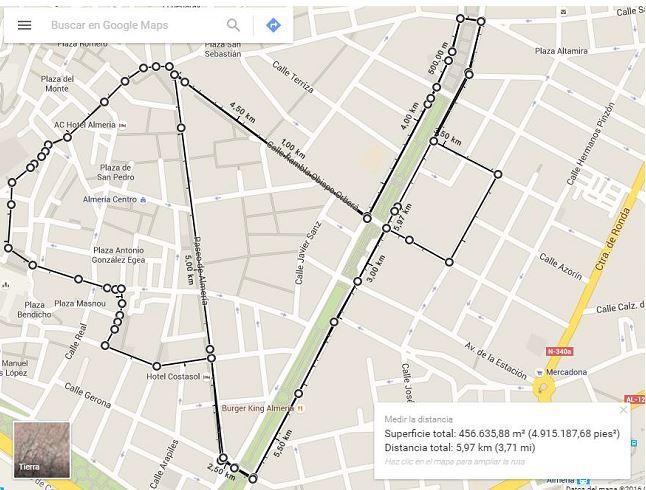 mapa 6000m