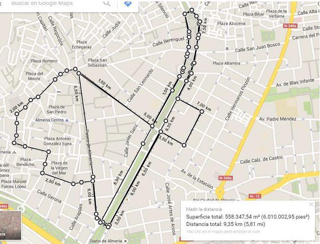 mapa 9300m