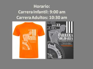 Captura horario carrera gris