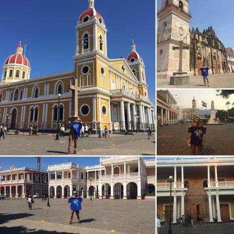 2 Nicaragua Granada Plaza del Parque Central